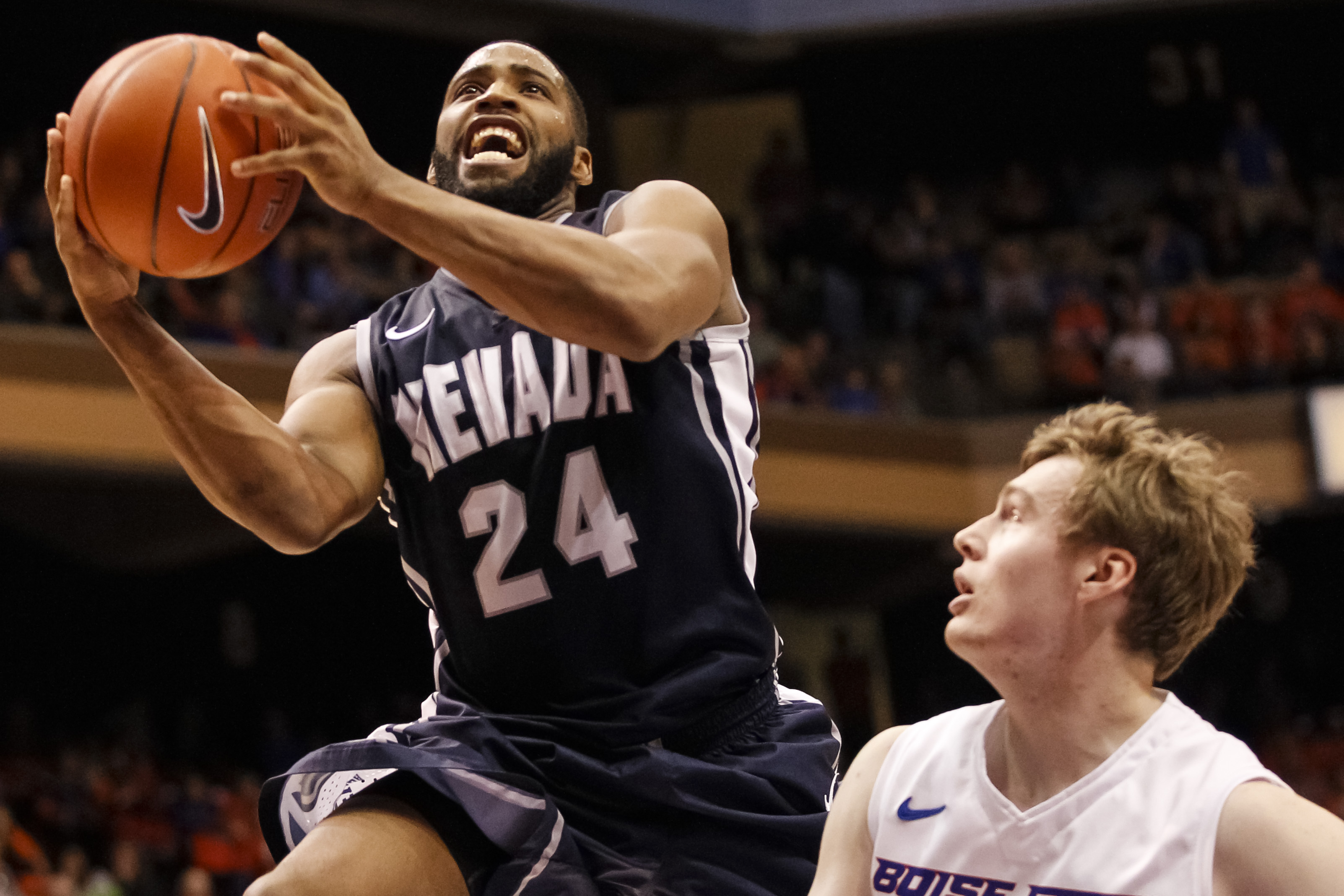 Burton completed his college career at Nevada, and scored in top 30 in three of the five events in the Draft Combine.