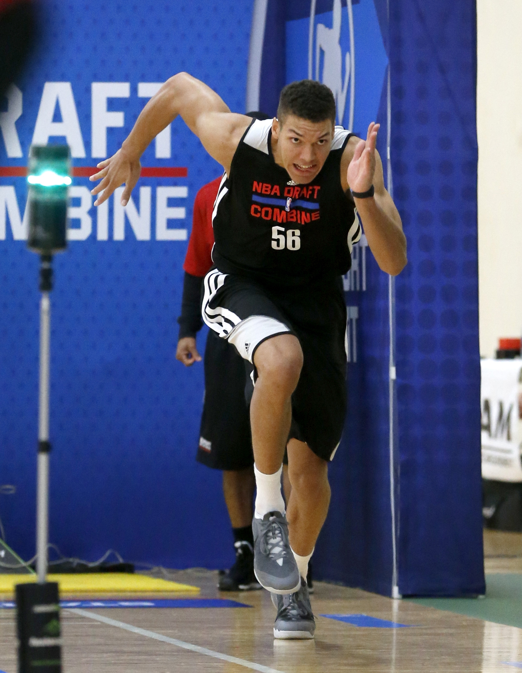 The Arizona Wildcats' freshman had the best time in the shuttle run (2.76 seconds), which measures a player's agility and ability to change direction.