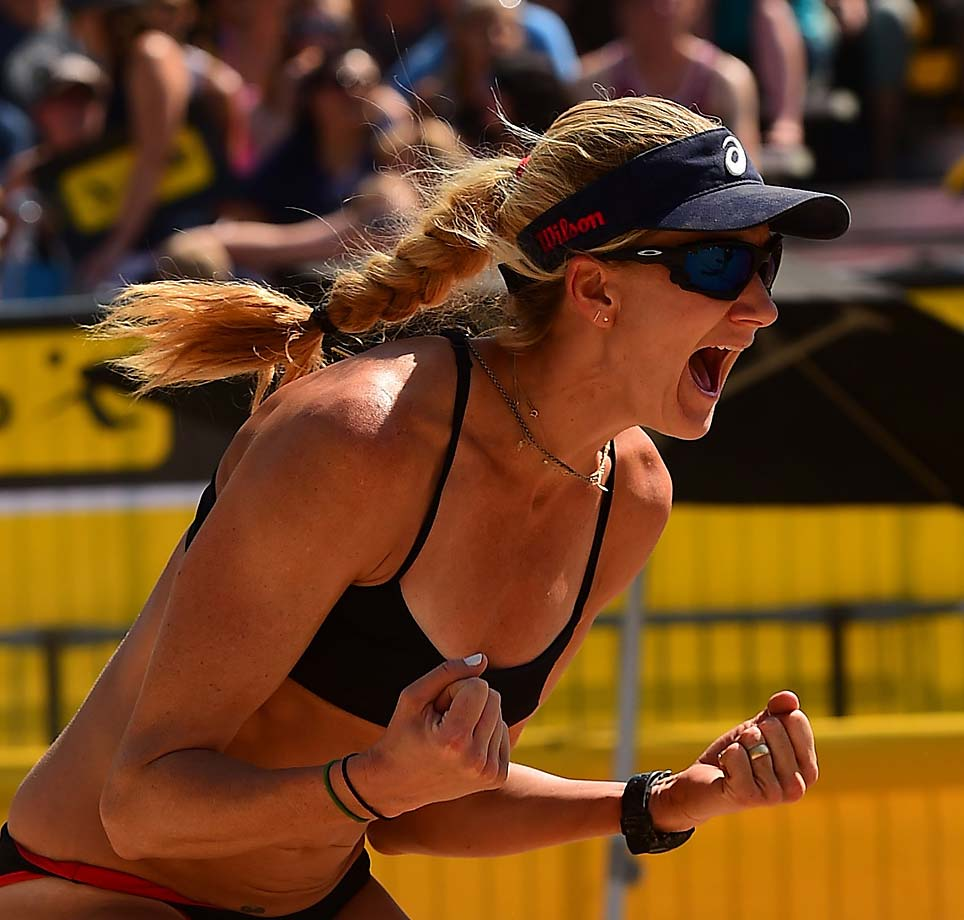 Kerri Walsh Jennings has 120 beach tournament titles now.