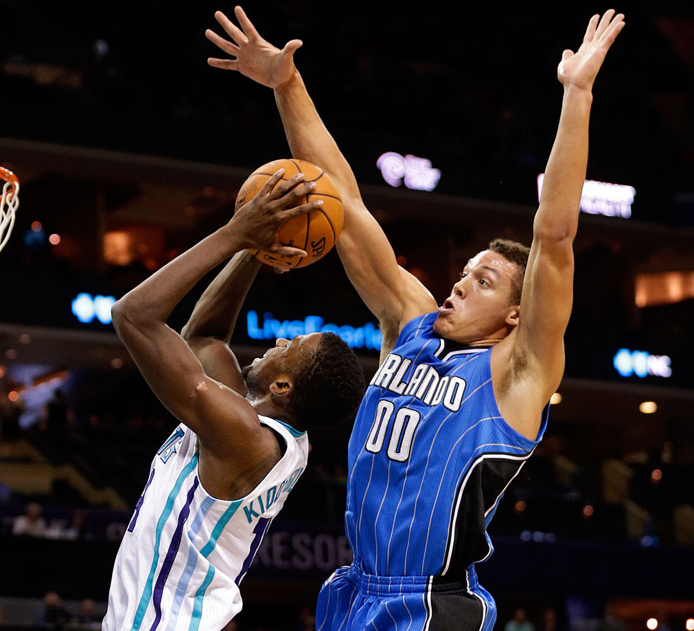 Gordon probably won't do much to help a Magic offense that ranked No. 29 in points scored per possession last season. One can have grand visions of what he could be – a two-way dynamo with elite skills to match frightening athleticism – while acknowledging that he's in the early stages of his development. Gordon remains a limited offensive player without a consistent jumper who connected on only 42 percent of his free throw attempts last season at Arizona. For as much work as he needs offensively, though, Gordon is already a talented defender who can run the floor and guard a variety of opponents. Gordon won't lack for entertainment value, either. Be prepared to see plenty of dunks throughout the year.