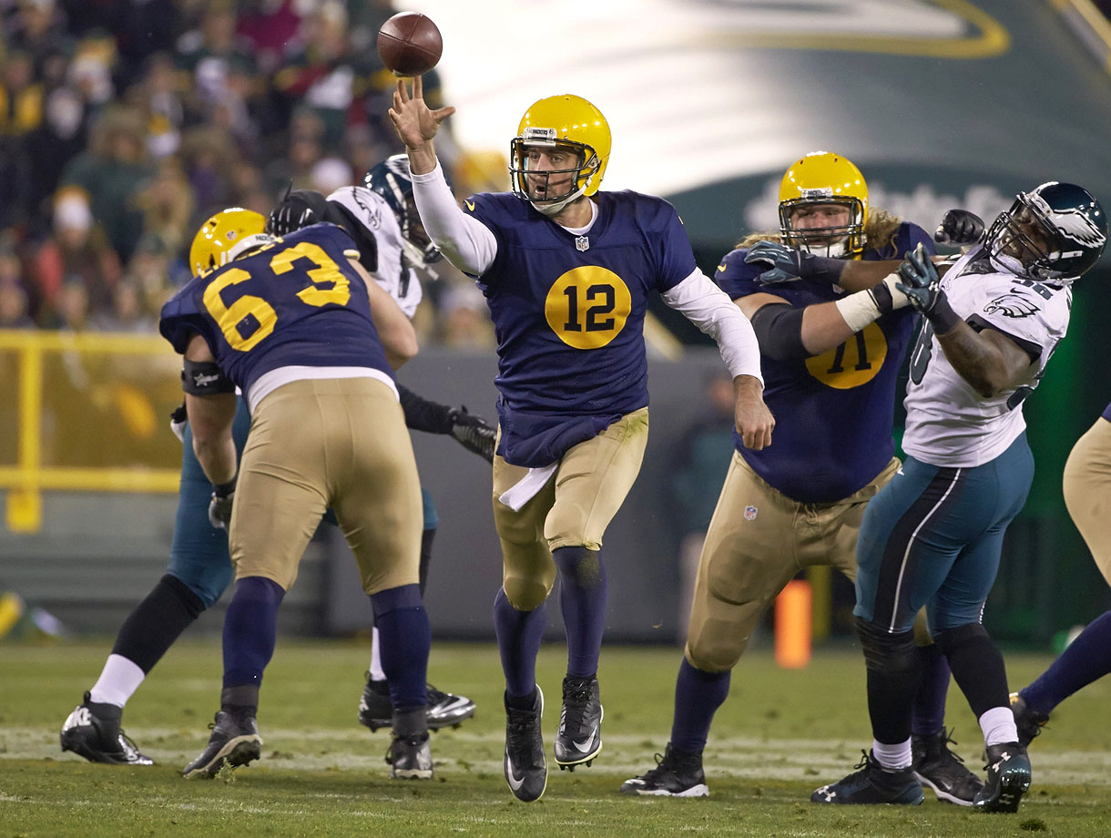 At 31, Rodgers is the best thrower in the NFL on the move, among the best when throwing the deep ball and just about the best under pressure. There isn't a thing you're required to do as a quarterback that he hasn't mastered to a chilling, almost robotic, degree.