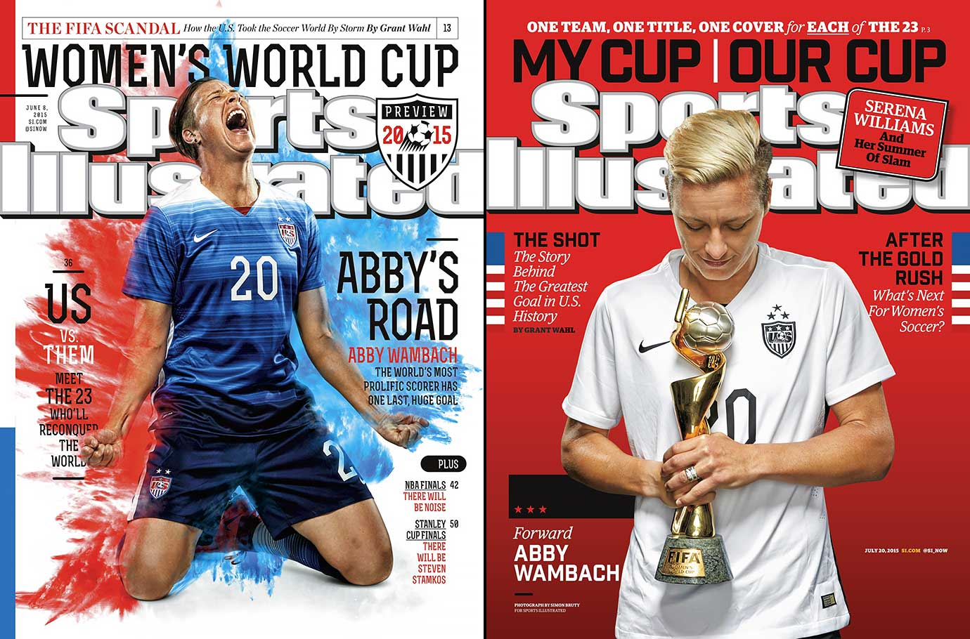 Wambach, 35, is the winner of two Olympic gold medals, to go along with her World Cup title from the summer. She scored the game-winning header of the 2004 Olympic final against Brazil, and five goals at the 2012 Summer Games in London. Wambach, who finishes her career as America's all-time leading scorer in both the World Cup and Olympics, is also the top scorer in international soccer history with 184 goals. Wambach's final game with the USWNT will be on Dec. 16 in New Orleans.