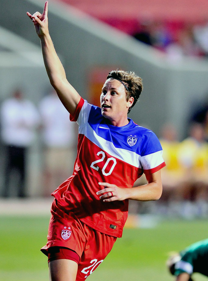 A hard-nosed center forward, Wambach has recently embraced playing a role deeper in midfield for the United States, but don't expect to see the 2012 FIFA World Player of the Year stray too far away from her favorite spot on the field: in front of goal.
