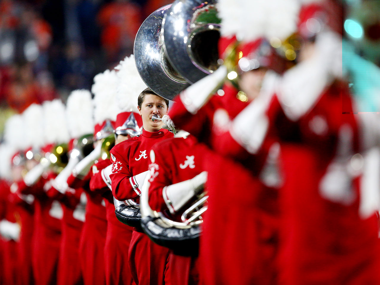 The Alabama band.