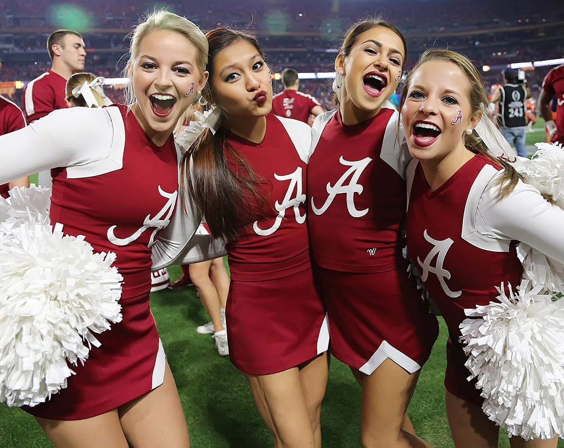 Cheerleaders Of The College Bowl Games Si Com