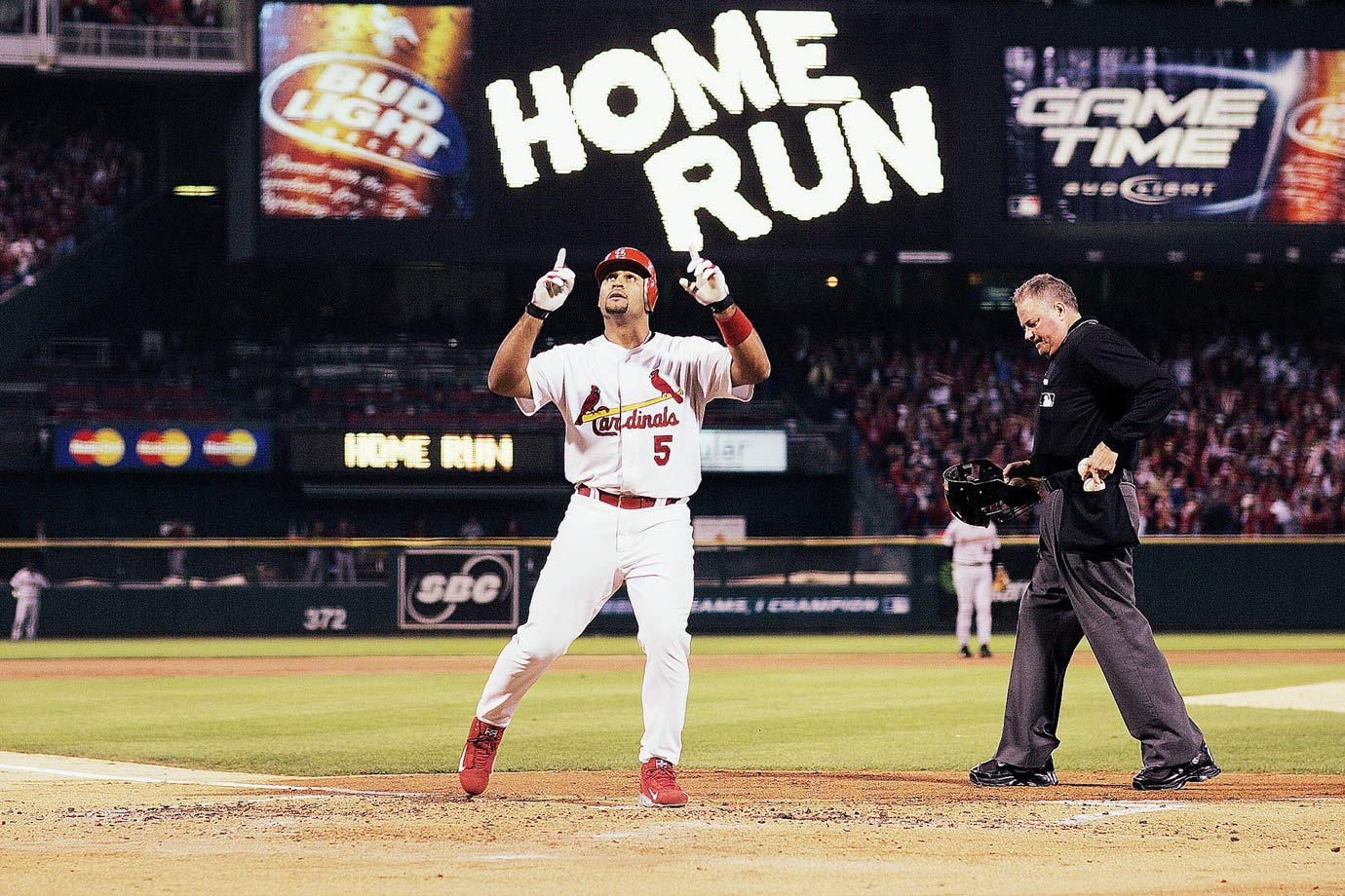 The first round of the 1999 MLB Draft may have produced stars such as Josh Hamilton and Josh Beckett, but the Cardinals undoubtedly made the best pick that year by choosing Albert Pujols in the 13th round. Through 11 seasons in St. Louis, the nine-time All-Star, 2001 NL Rookie of the Year and three-time NL MVP maintained a .328 batting average, .420 on-base percentage, averaged over 40 home runs and 120 RBI per season. Though his numbers declined after he signed with the Angels in 2012, Pujols still belted 40 homers in 2015 and was named an All-Star.