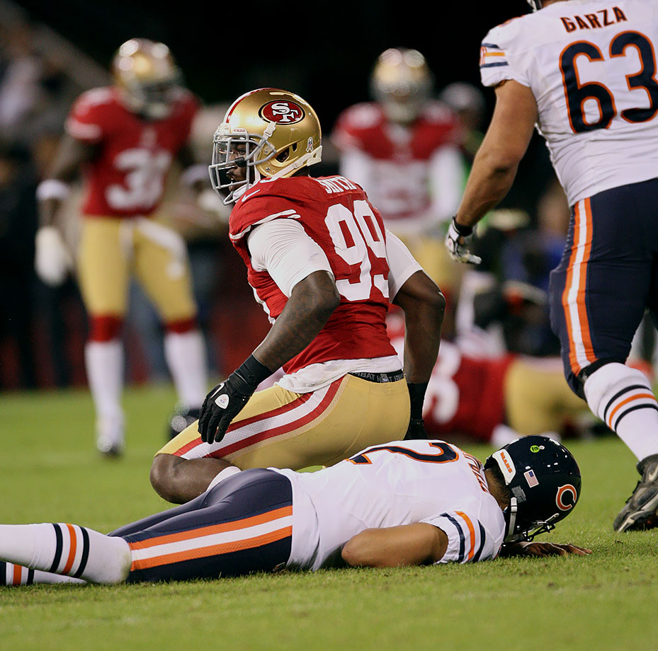November 19, 2012 — San Francisco 49ers vs. Chicago Bears
