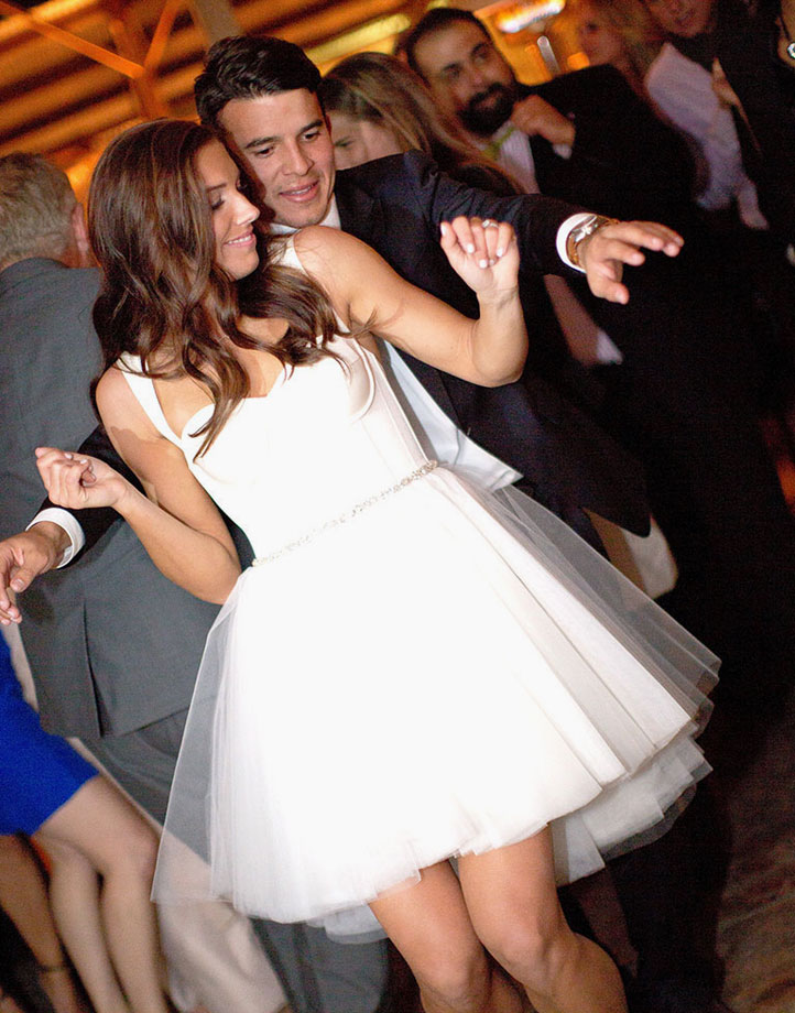 Women's soccer star Alex Morgan got engaged to MLS player Servando Carrasco of the Houston Dynamo in Dec. 2013. The pair were married a year later in a New Year's Eve ceremony.