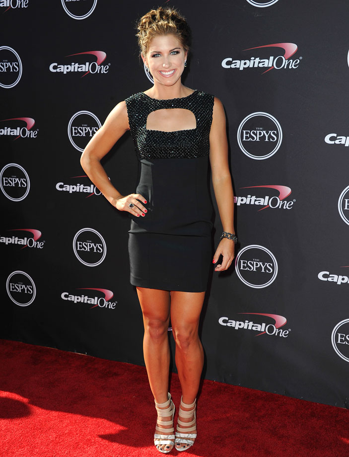 Alex Morgan is proof that even the biggest names in sports can rely on the Little Black Dress to make a big statement.