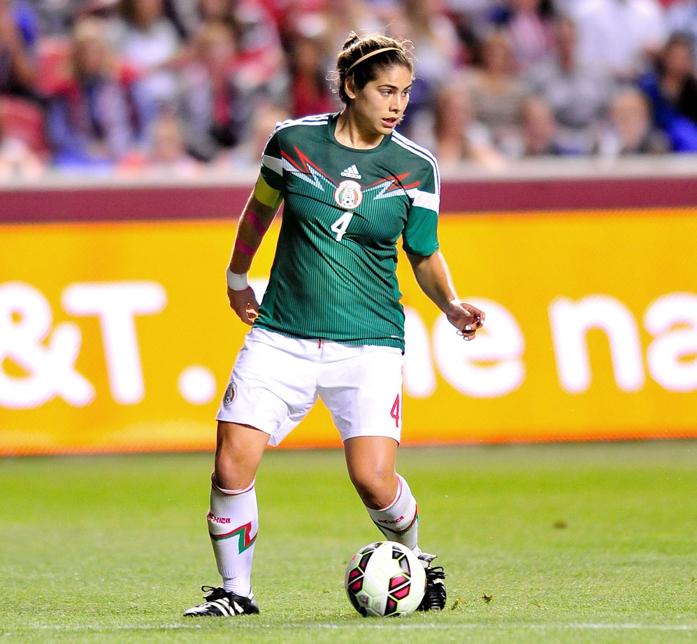 After starting for Mexico as a Stanford player at the 2011 World Cup, Garciamendez opted to go abroad for her rookie professional season in 2013 rather than joining the National Women's Soccer League. The Texas-born defender signed with FFC Frankfurt in the Frauen Bundesliga.
