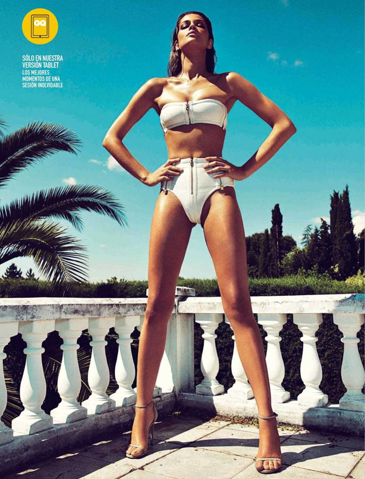 Ana Beatriz Barros for GQ Spain, July 2014 by Richard Ramos