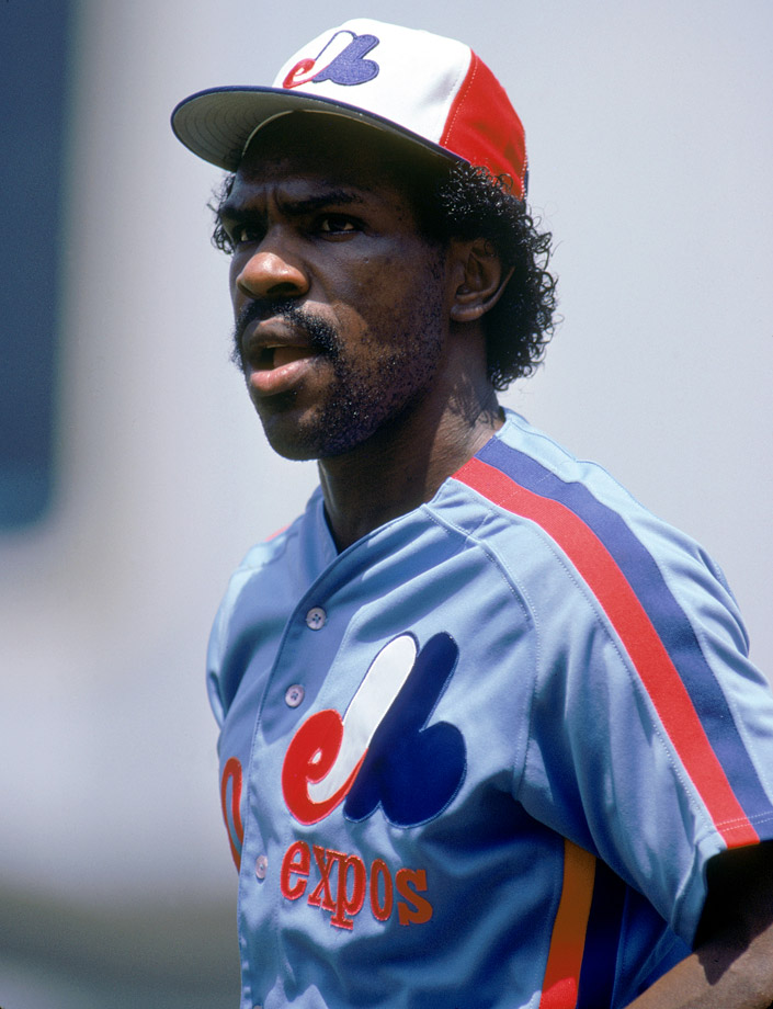 Andre Dawson was the 1977 National League Rookie of the Year with the Montreal Expos, hitting .282 with 19 home runs and 21 stolen bases.