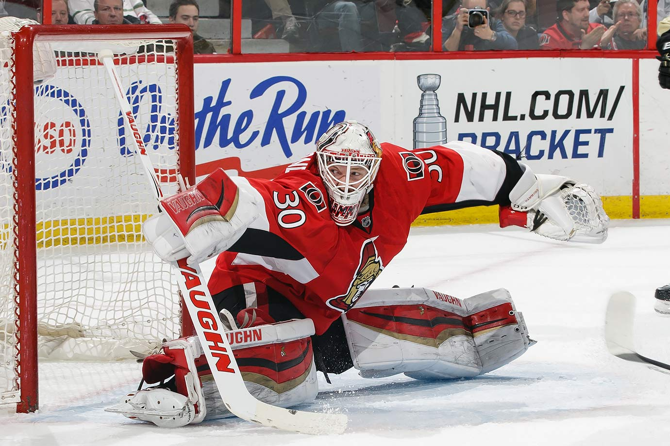 Undrafted 27-year-old goalie Andrew Hammon was in the midst of nondescript season with AHL Binghamton when an injury to starter Craig Anderson prompted his recall to Ottawa. Once there, he went on a miraculous 20-1-2 tear down the stretch to lead the floundering Senators to a shocking berth in the Eastern Conference playoffs.