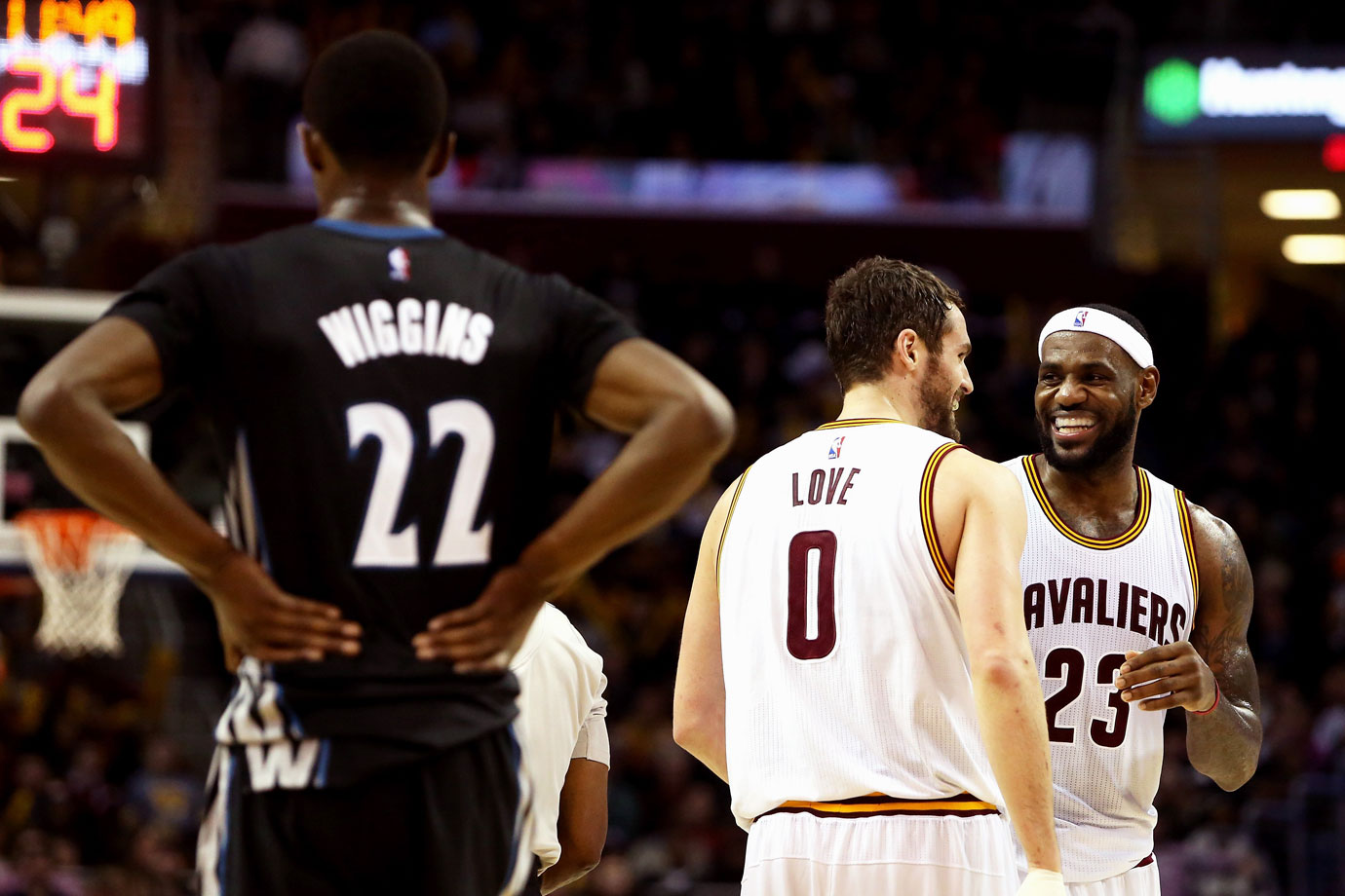Eight teams had better odds than the Cavaliers, who lucked out yet again with just a 1.7% chance this time. Their selection of Andrew Wiggins parlayed into a trade with Minnesota to acquire Kevin Love two months later. Wiggins went on to win Rookie of the Year with the Timberwolves while Love's numbers dipped with the Cavs and he suffered a dislocated shoulder in the team's 2015 first-round sweep of the Celtics.