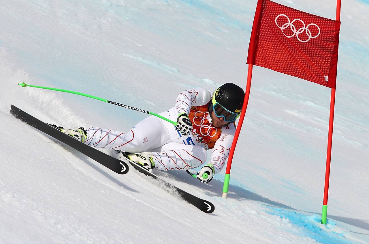 Andrew Weibrecht of the U.S., a 2010 bronze medalist in the super-G, won silver in Sochi.