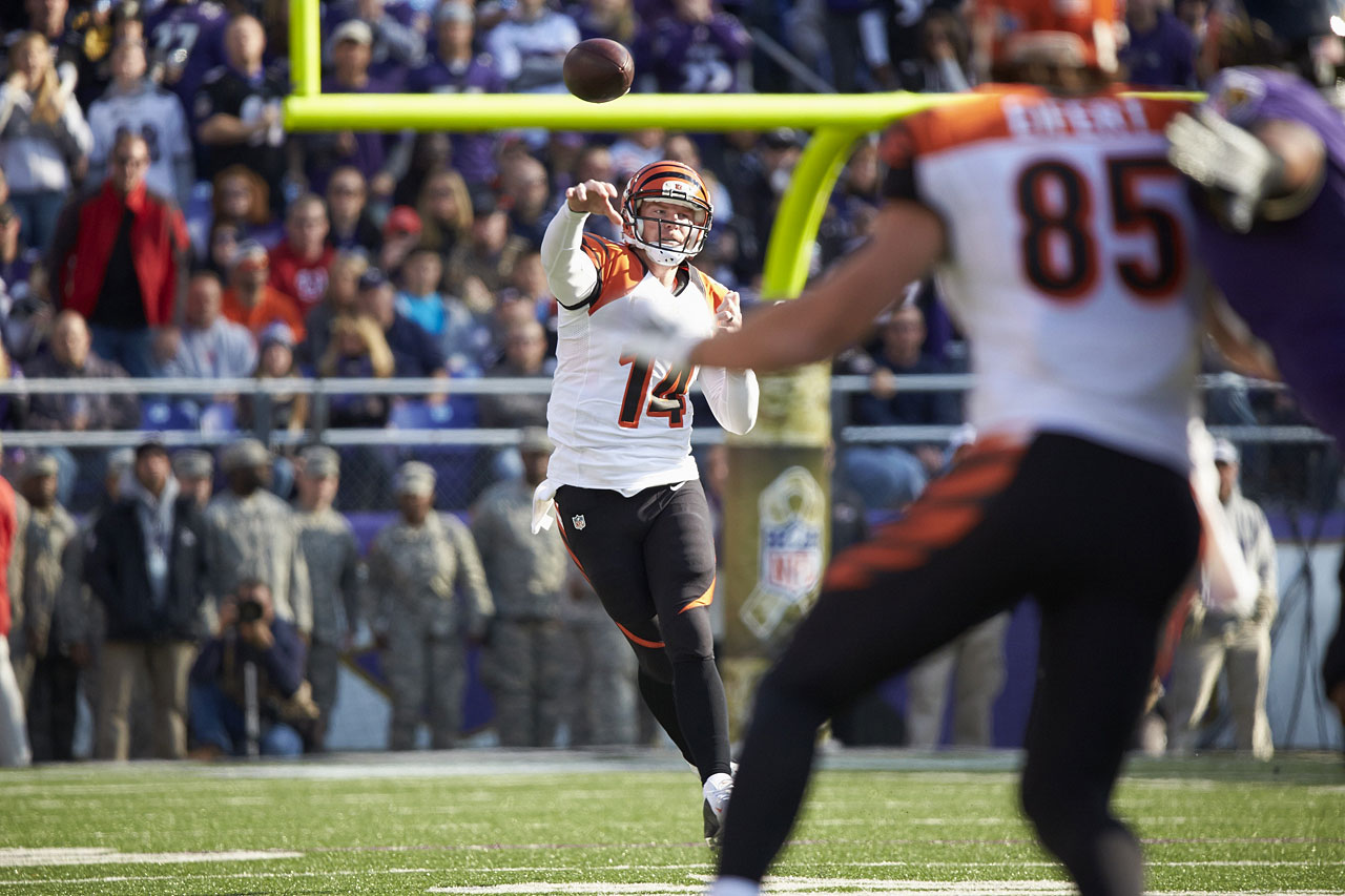 Dalton was quietly a fantasy monster last season, finishing with 4,293 passing yards and 33 TDs. Doubters will say Dalton is streaky, just signed a huge deal and has a new offensive coordinator, but, regardless, he is an absolute steal at his current ADP.