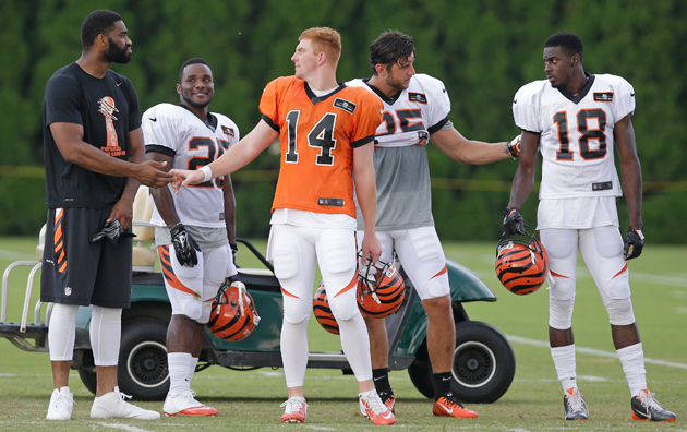 Dalton has the support of his teammates, but is he ready to take the next step?