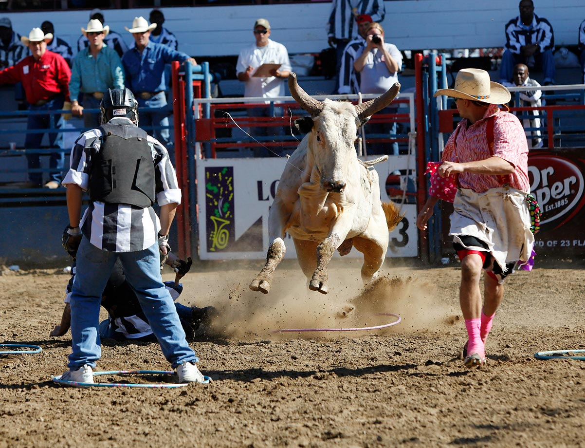 Convict Poker remains a highlight of the Angola Prison Rodeo, which, in its 50th year, continues to grow, drawing a total crowd of 70,000 in 2014.
