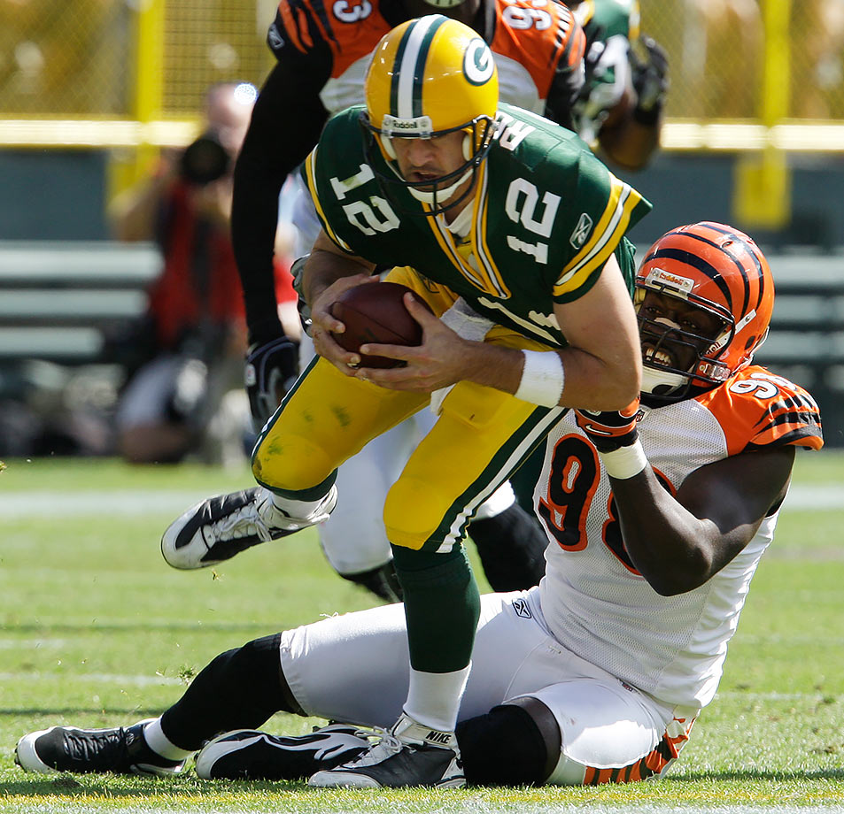 September 20, 2009 — Cincinnati Bengals vs. Green Bay Packers