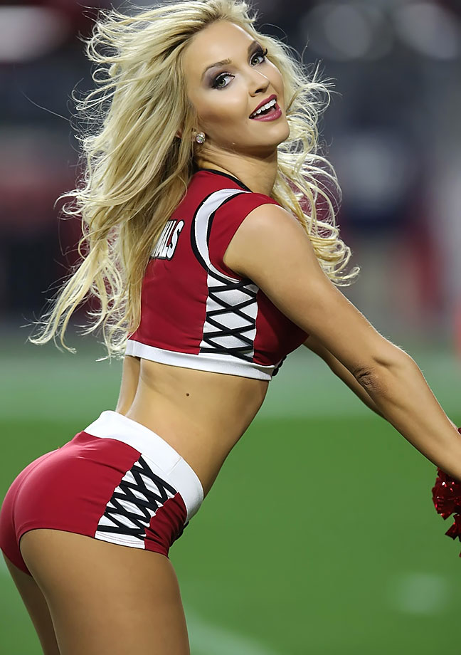 Apologise, but, Most sexy cheer leader right! seems