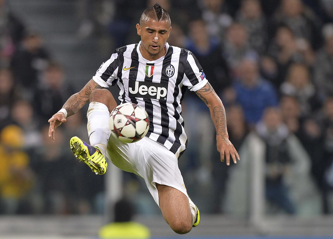 Vidal was Juventus' leading scorer in continental competition last year, saving his best play for when the lights shined brightest. He works alongside Andrea Pirlo in that midfield, providing the engine as a box-to-box midfielder to complement the older Pirlo's ability to pick passes. For Chile, Vidal will have to play a larger role.