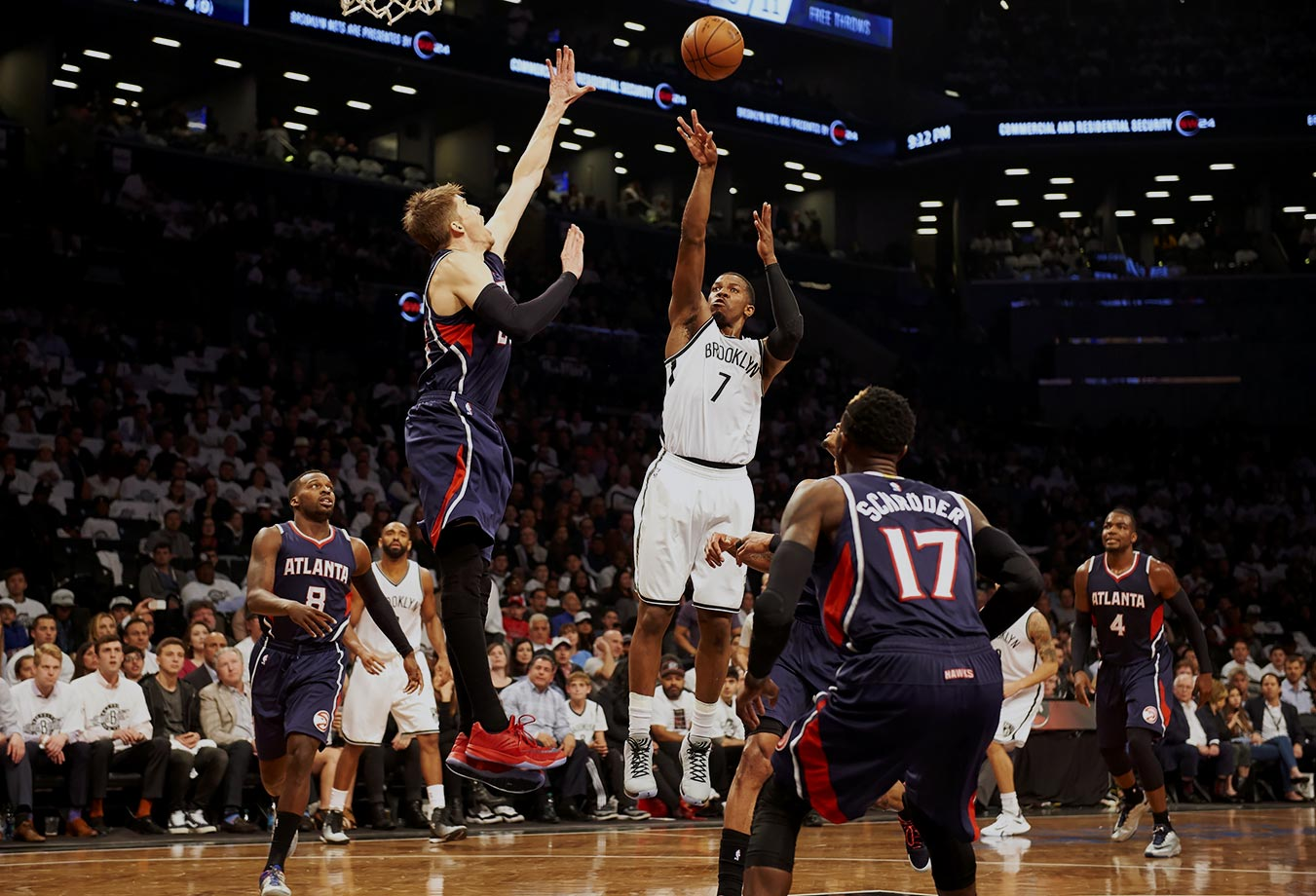 The Hawks need to trade for a scorer who can get them a basket when defenses clamp down on their offense in the post-season, someone who can create their own shot. Maybe Joe Johnson is available.