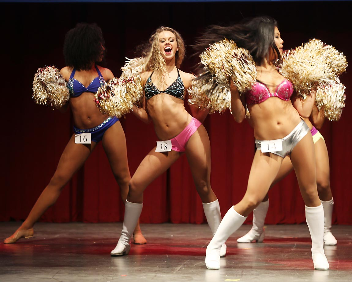 The Washington Redskins recently held their cheerleader auditions. Here are some photos of the event.
