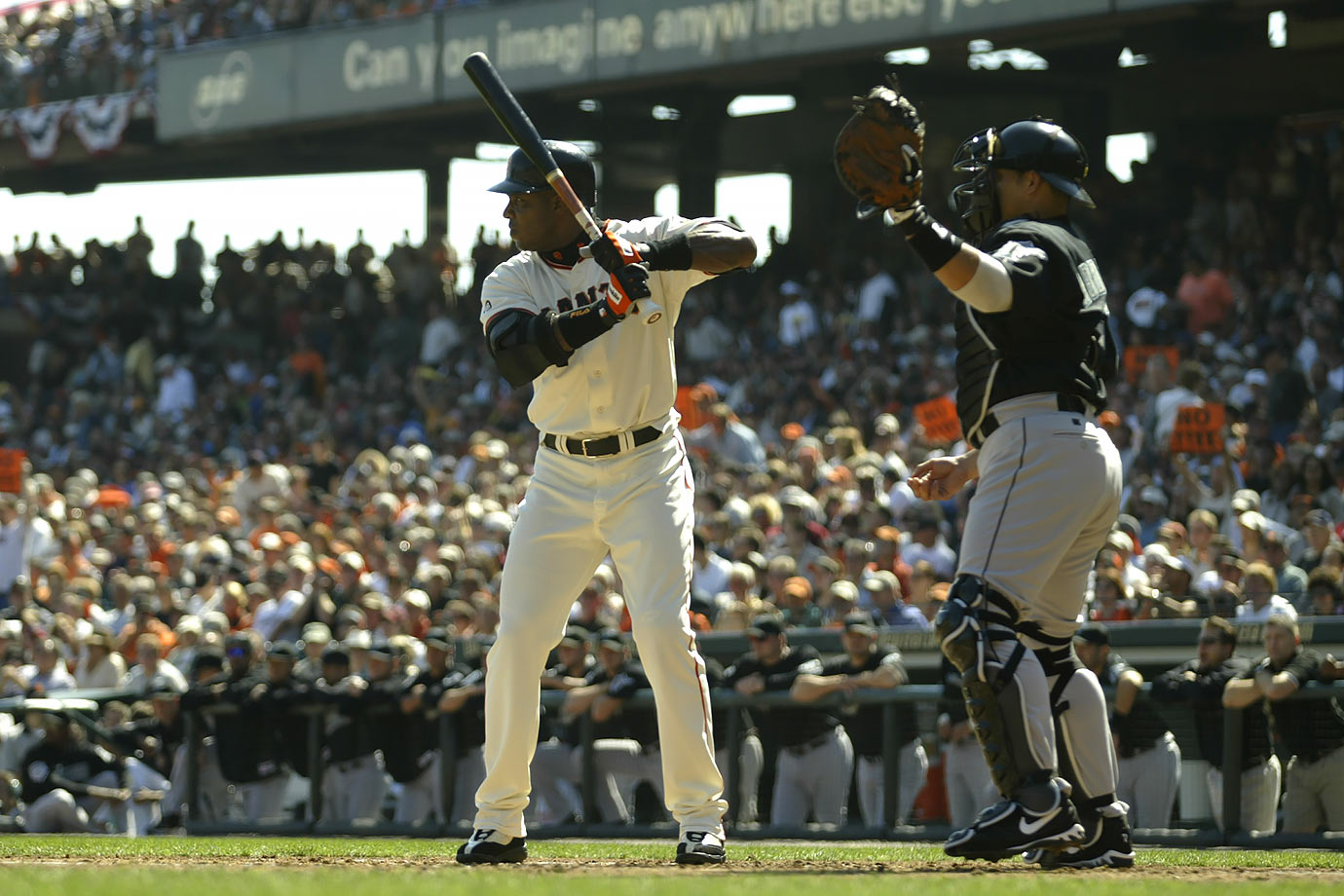 """Given the records that Barry Bonds has set in baseball it might not be surprising that according to our analysis he holds the best sports record. What might be surprising is that this record is for 688 intentional walks during his career, while his single season record of 73 home runs is the lowest ranked record in our analysis."""