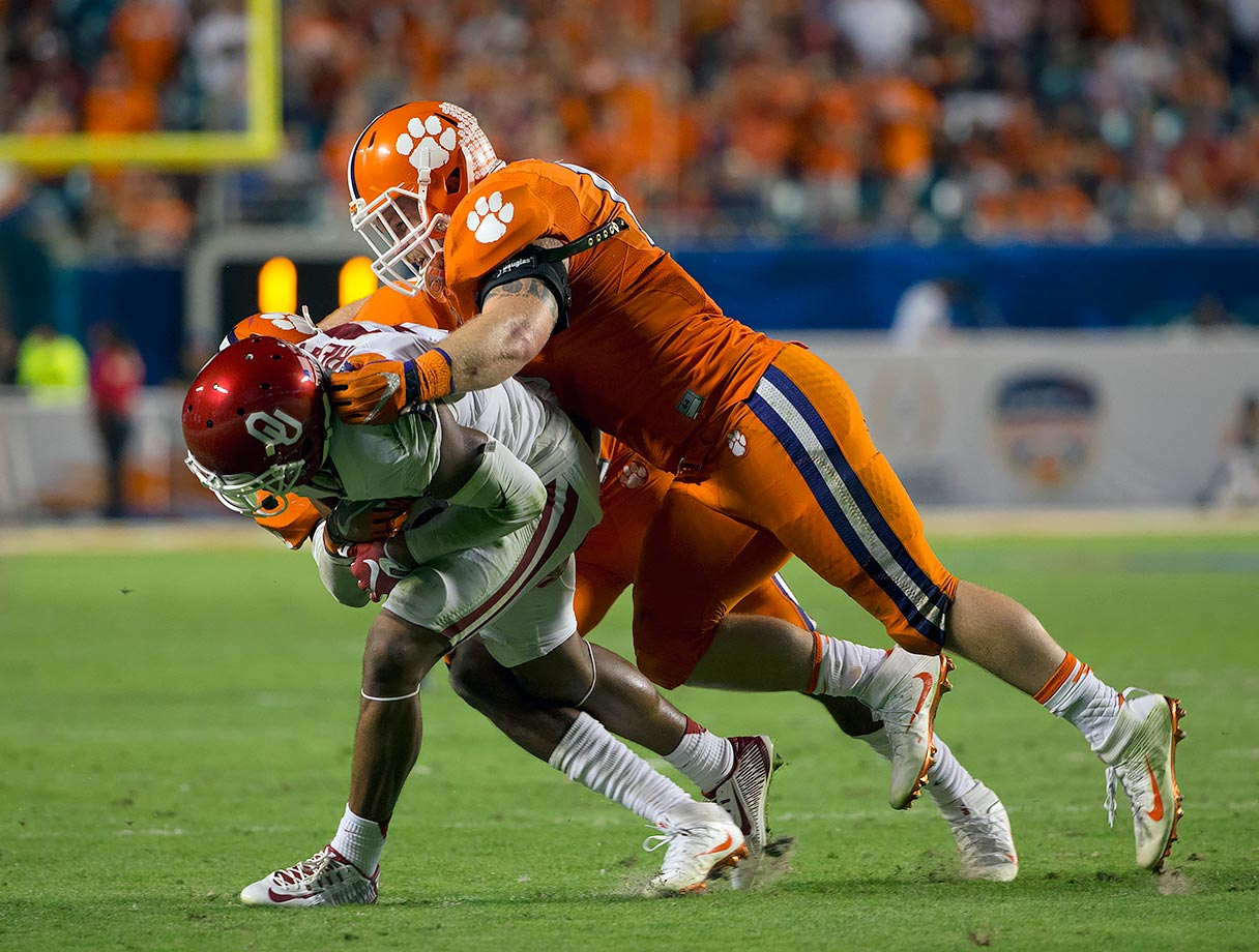 Boulware recorded 81 tackles, 7.5 tackles for loss, three sacks, three forced fumbles and two interceptions en route to being named a first team All-ACC performer. The senior linebacker will have to take on an even bigger role in 2016 as the Tigers return just four starters on defense.