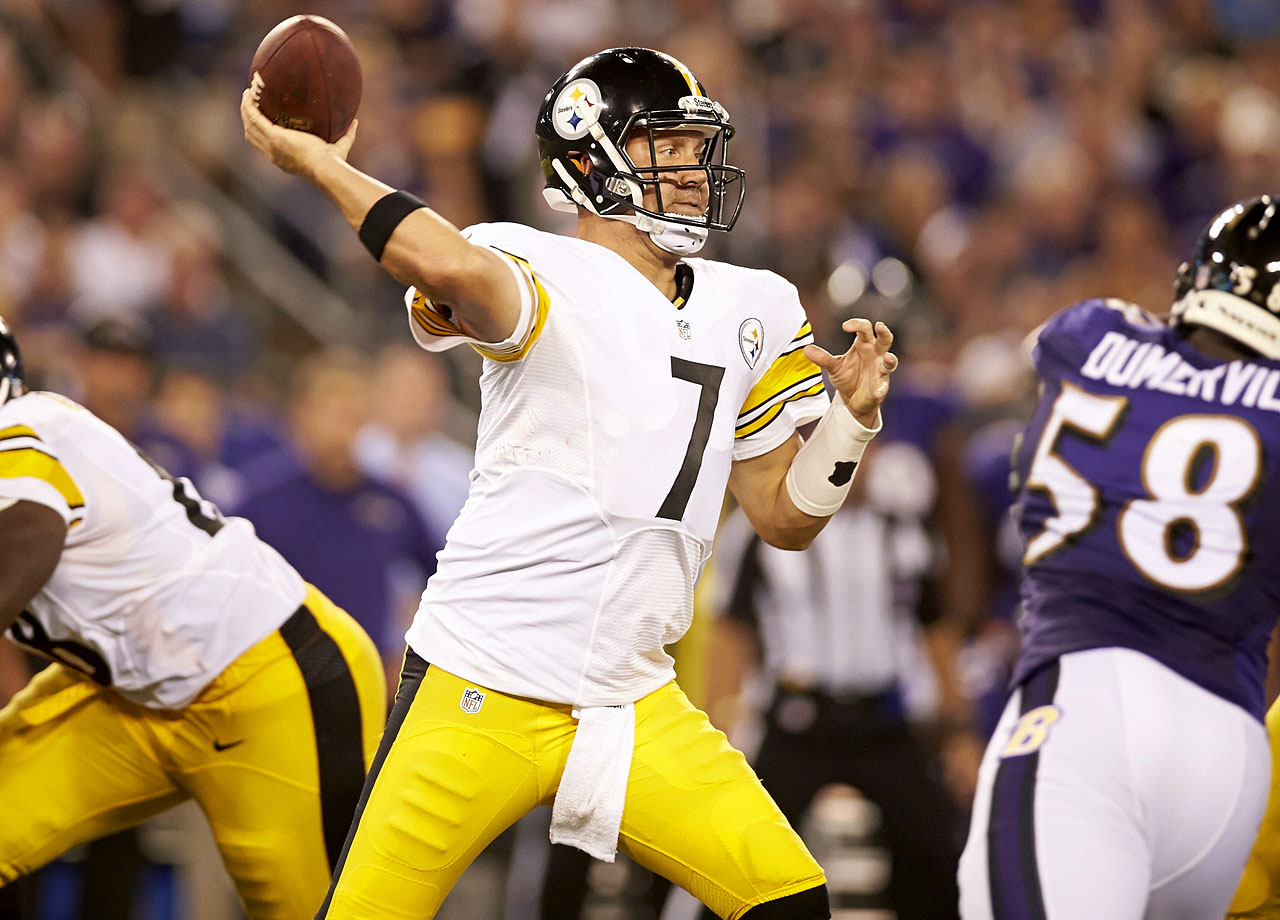 In 2014, in his 14th NFL season, Roethlisberger posted his highest career passing yardage total (4,952), tied his best single-season TD total (32) and put up his second-lowest interception percentage (1.5) despite a career high in attempts (608). It's unusual for a guy who's been in the league for more than a decade to have his best season to date so late in his career, but that's exactly what Roethlisberger did and why he's regarded so highly.