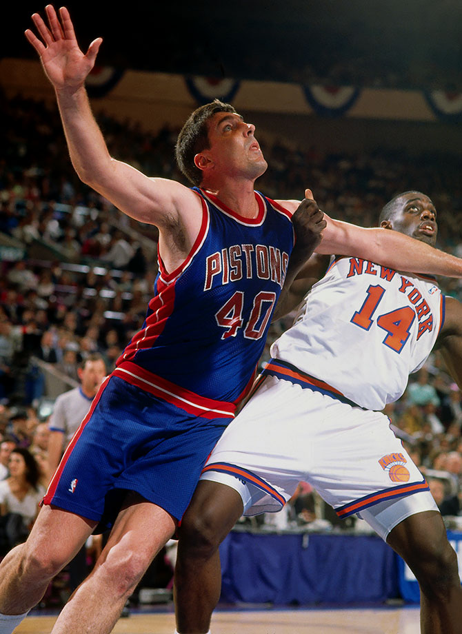 'Butcher me on the court Too many elbows to report, Now you're poking me in the eye Bill Laimbeer motherf---er, it's time for you to die""