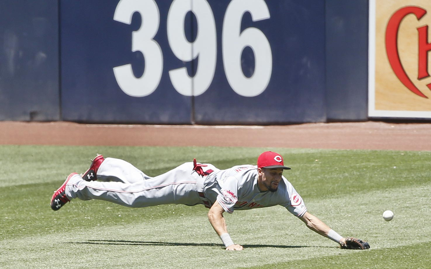 Billy Hamilton, Aug. 12, 2015.