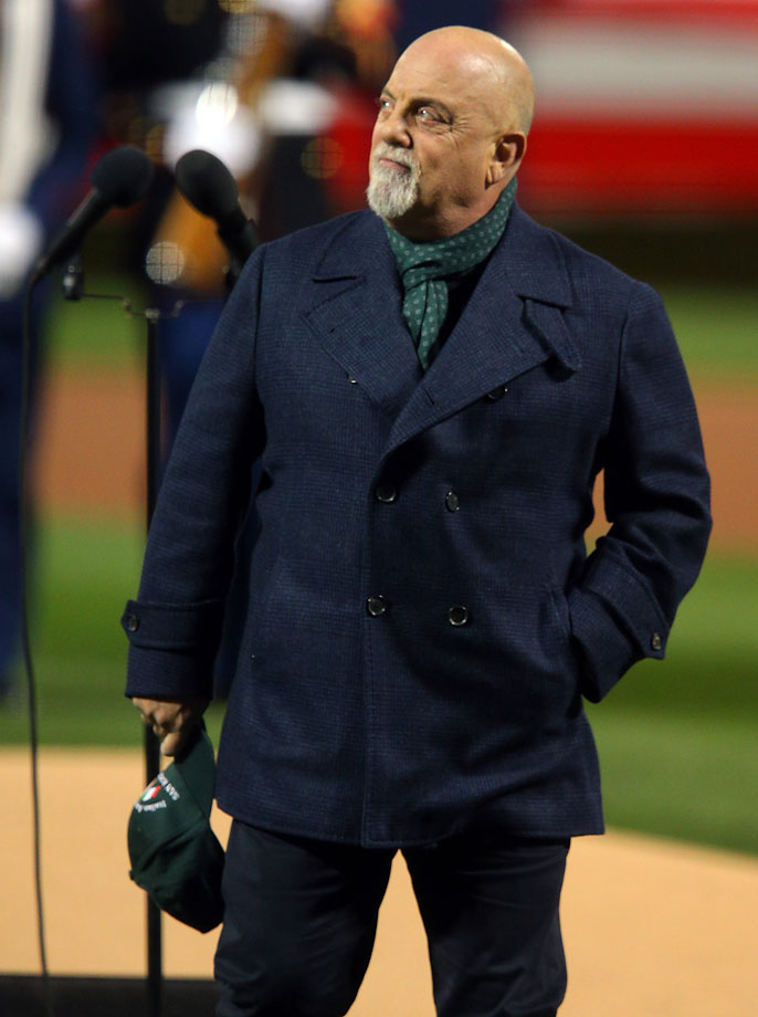 Billy Joel at Game 3.