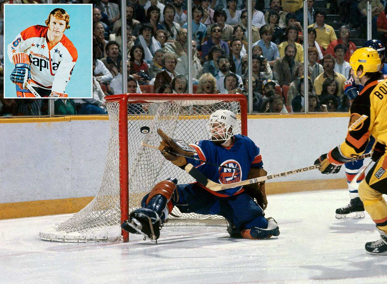 "In the 1970s, while Battlin' Billy was developing into the gritty ""money goaltender"" who would backstop the Islanders to four straight Stanley Cups (1980-83) and earn enshrinement in the Hall of Fame, older brother Gord was manning the blue line for some woeful Capitals and Jets squads. He spent six seasons in the NHL, scoring nine goals and ending up with a rather unsightly career mark of -137."