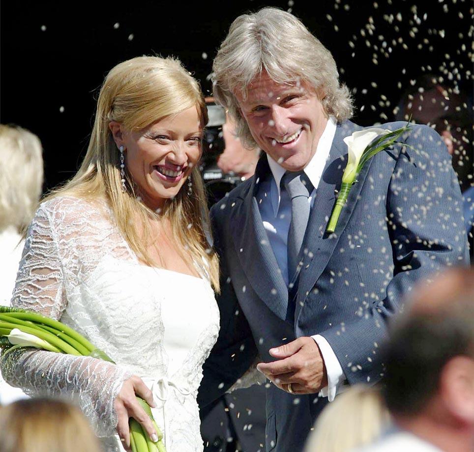 Bjorn Borg and Patricia Oestfeldt