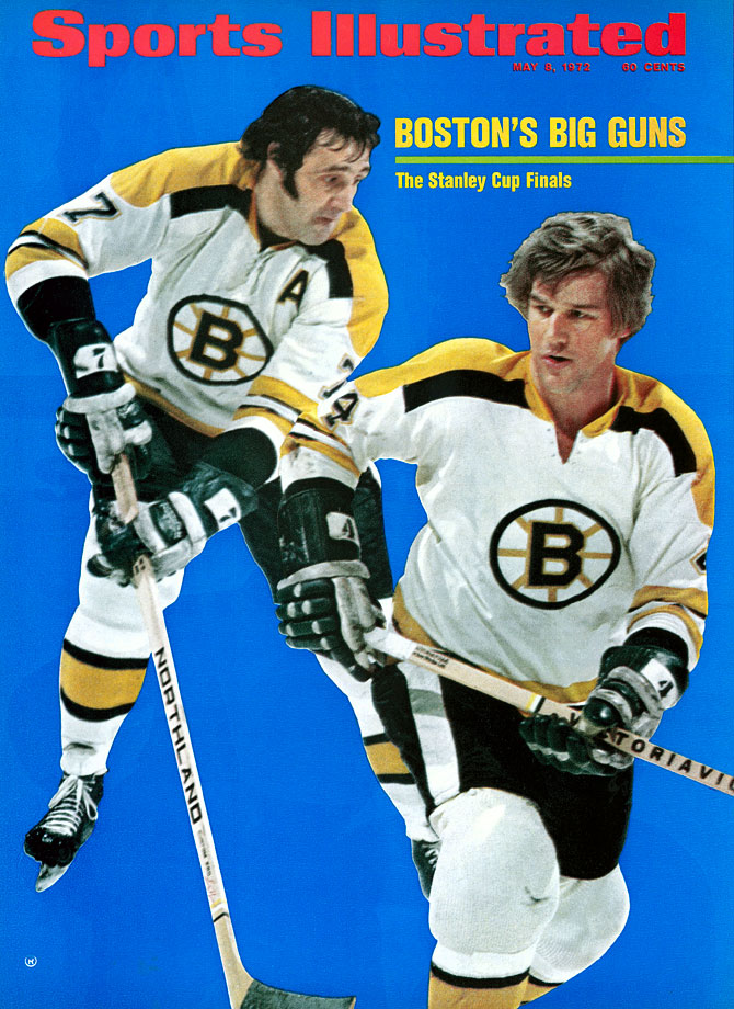 The Big Bad Bruins, Stanley Cup champs in 1970 and '72, were powered by this devastating offensive duo that lit up the NHL during their eight seasons together. Esposito, a charismatic center, won two Harts and five scoring titles while setting a then-record of 76 goals in 1970-71. Orr, quite simply, changed the game with his dynamic speed, playmaking and scoring from the backline. He owned the Norris Trophy, winning it a record eight times.