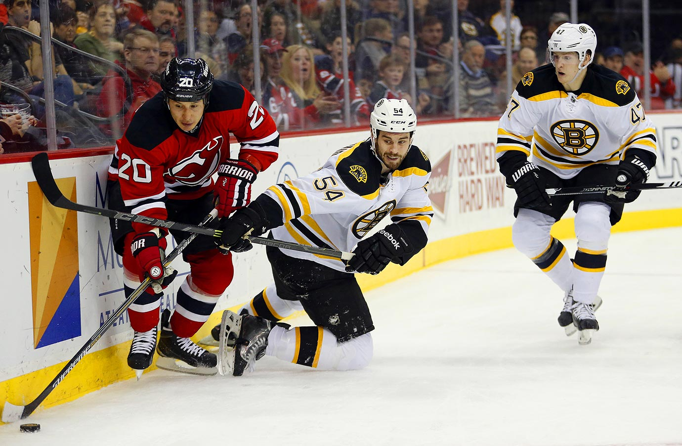 A preseason injury scare for Zdeno Chara illustrated how close this team is to having a defense led by Torey Krug, Zach Trotman and Adam McQuaid. After trading Dougie Hamilton and losing Dennis Seidenberg long term (back surgery), the B's can plan of spending a lot of time chasing the puck around their own zone for the first two months. By that point the playoffs could already be out of reach.