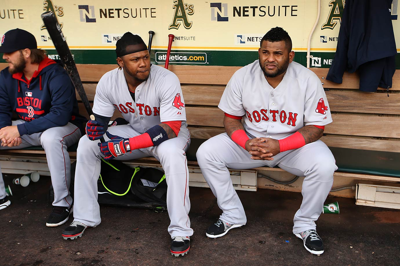 The Sox had high hopes when they signed Pablo Sandoval and Hanley Ramirez to contracts worth a combined $183 million. Not even rookie sensations Mookie Betts and Xander Bogaerts could save them from a last-place finish.