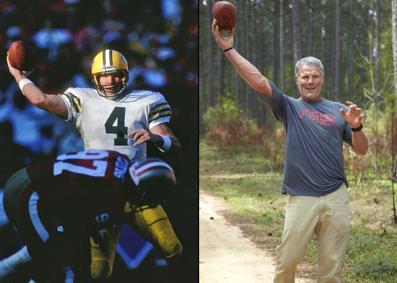 "It took several attempts at retirement before the NFL's ultimate iron man wrapped his mind around life without football—and let's just say he's taken to it quite well. ""I could make all the throws I made before,"" Favre says now, weighing his game. ""We're not trying to start some he's-coming-out-of-retirement deal. But I could play."""