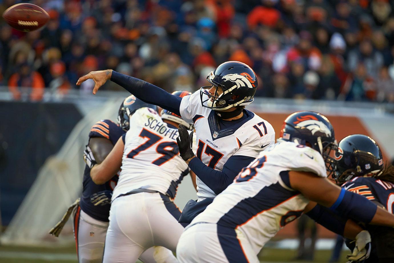 2015 Team: Denver Broncos — 2016 Team: Houston Texans