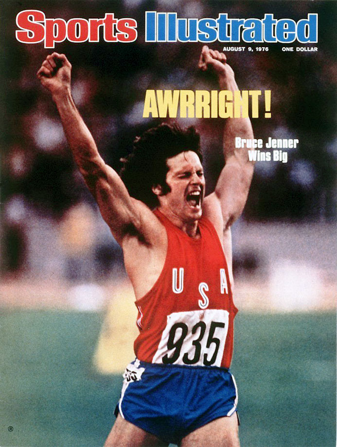 Before becoming Caitlyn Jenner, Bruce was an Olympic gold medalist for the U.S. in the decathlon at the 1976 games in Montreal.