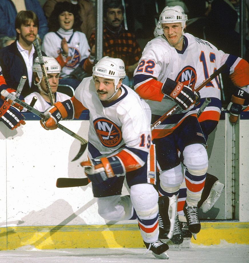Trottier and Bossy had a special chemistry that helped create a dynasty that won four straight Stanley Cups and a record 19 consecutive playoff series. A hard-nosed two-way center, Trottier won the Hart trophy and led the NHL in scoring in 1978-79, his second season skating with Bossy, who many regard as the best pure goal scorer in league history. During their decade together, Bossy rattled off a record nine consecutive 50-plus goal seasons.