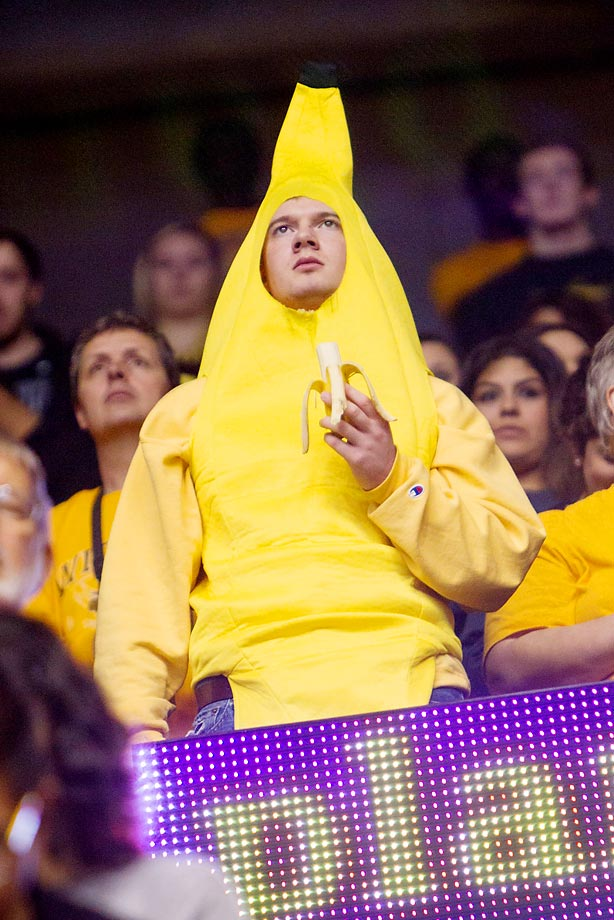 Wichita State fan --- aren't you glad we didn't say banana?