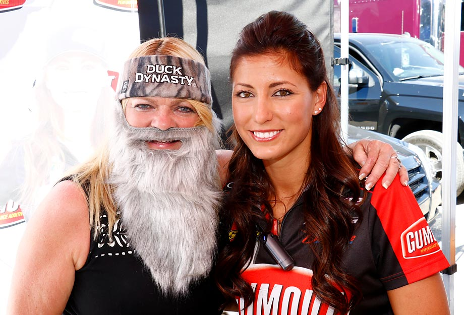 Connie Dote and Leah Pritchett grace the 14th Annual NHRA Toyota Nationals.