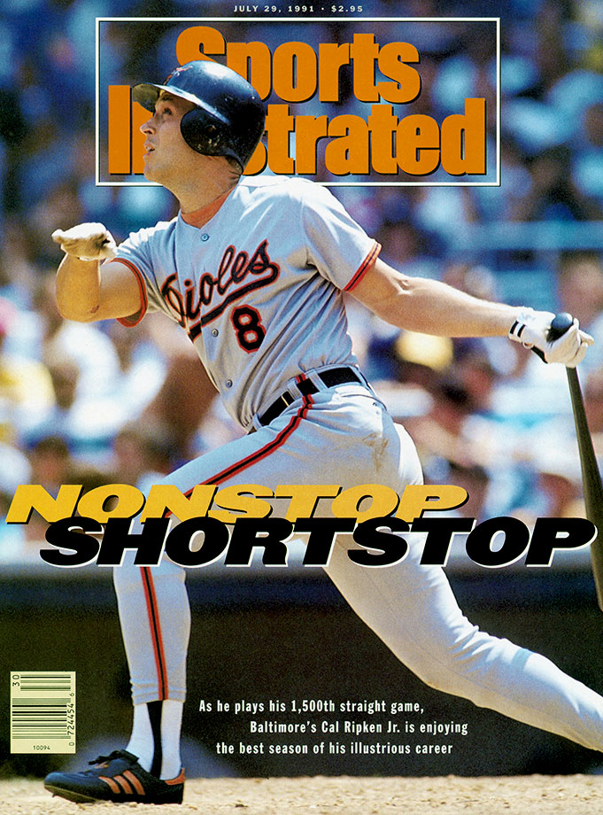 A 19-time All-Star and two-time MVP, Cal Ripken, Jr. revolutionized the shortstop position and played in a record 2,632 consecutive games. A member of both the 3,000-hit and 400-home run clubs, Ripken was named on 537 of 545 ballots (98.53%) the most ever for a position player.