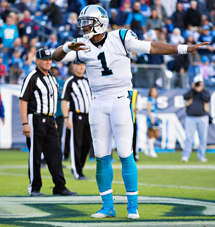 Cam Newton hopes he gets to do his touchdown dab dance a bunch when Carolina faces Denver in Super Bowl 50.