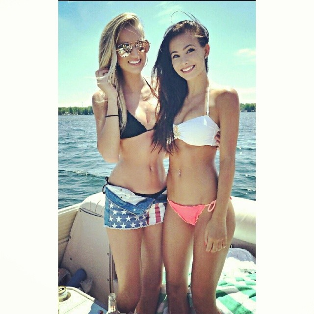 Carly Francavilla and Krista Ferguson :: @krista_ferguson/Instagram