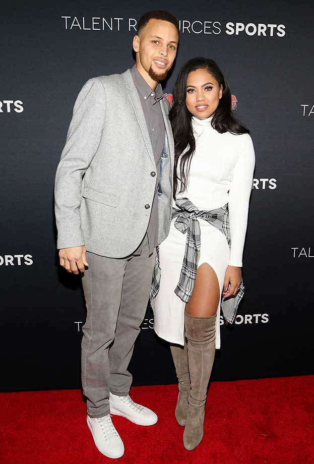 Stephen and Ayesha Curry :: Rolling Stone Party