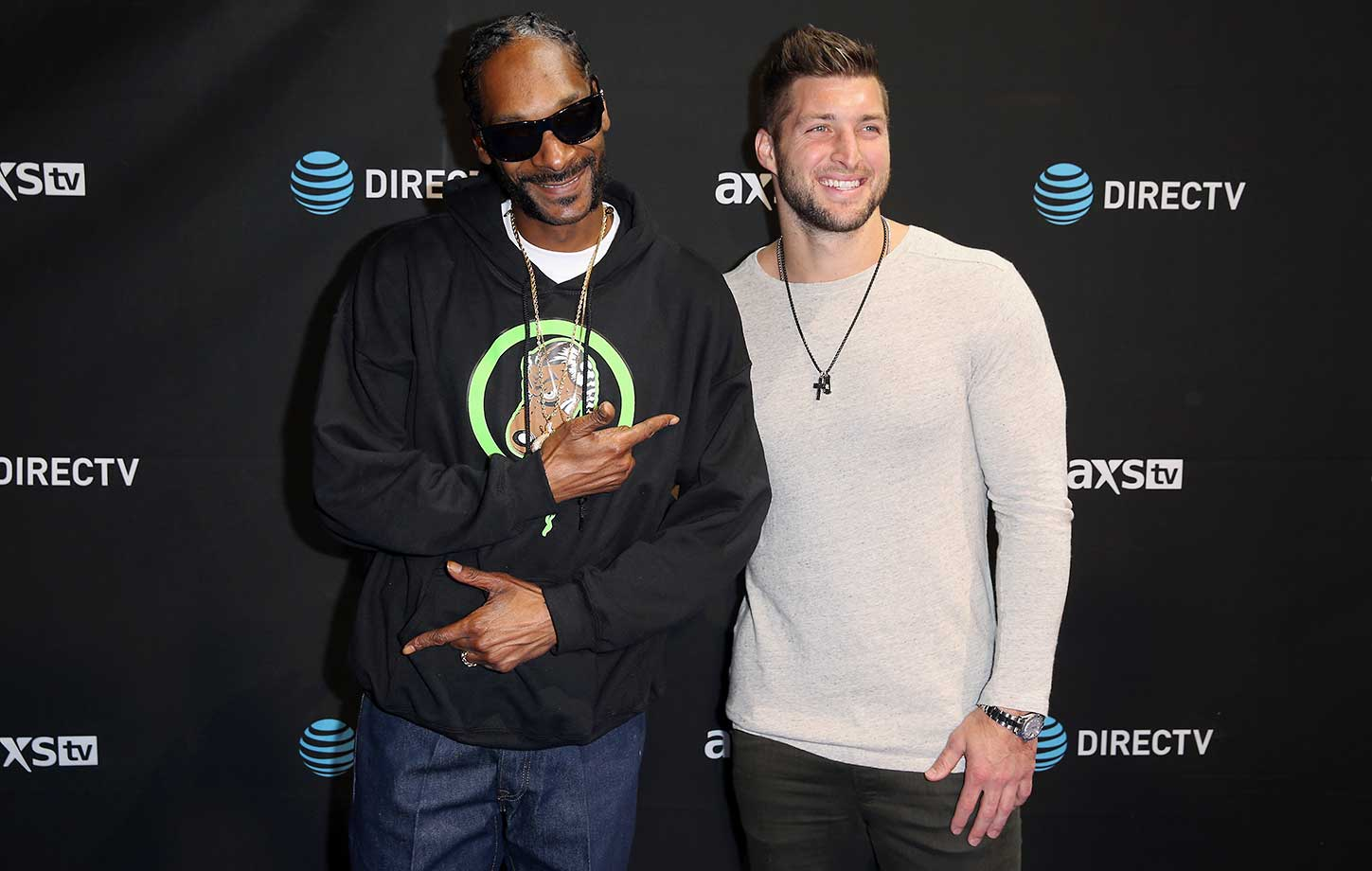 Snoop Dogg and Tim Tebow:: DirecTV Super Saturday Night