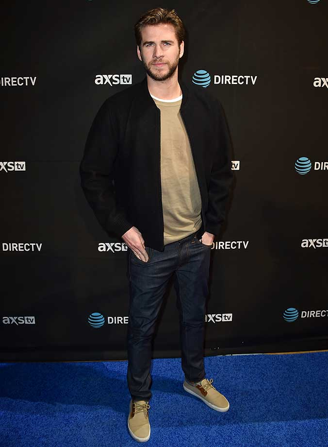 Liam Hemsworth :: DIRECTV Super Saturday Night